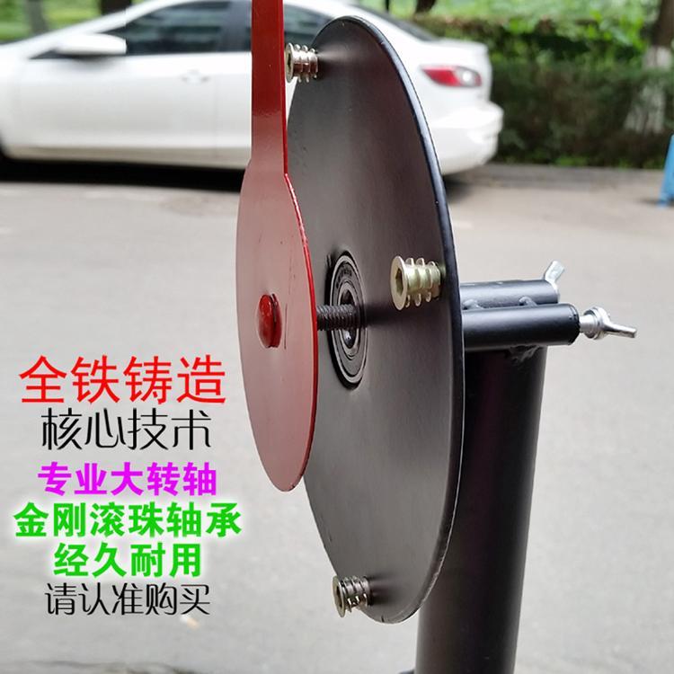 抽奖转盘连接件转头摇奖轮盘配件钢轴承转头